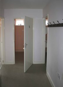 Cloakroom corridor